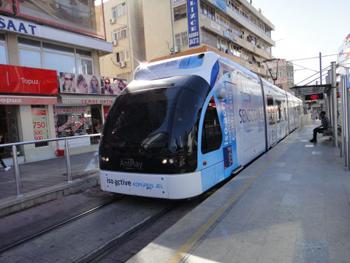 Общественный транспорт анталии 2015