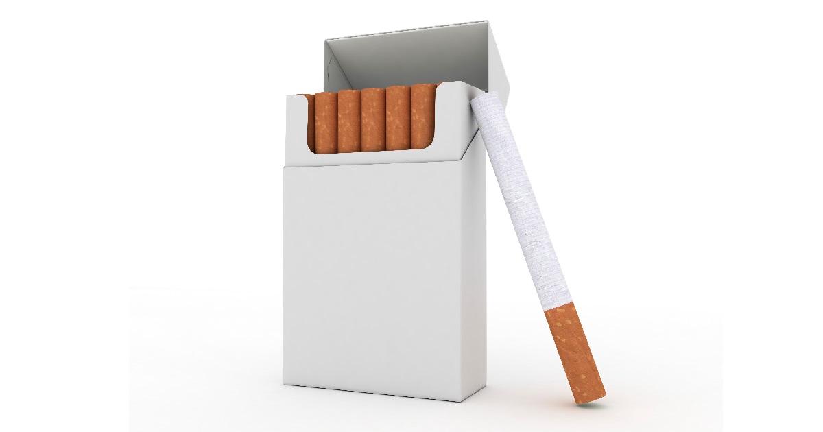 для пачки сигарет без картинок извещатель