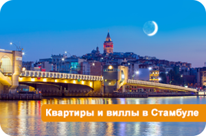 Квартиры и виллы в Стамбуле